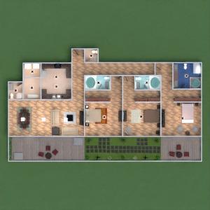 floorplans appartement maison terrasse meubles décoration diy salle de bains chambre à coucher salon cuisine extérieur eclairage rénovation maison café salle à manger architecture espace de rangement studio 3d