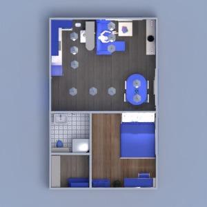 floorplans wohnung haus mobiliar dekor do-it-yourself badezimmer schlafzimmer wohnzimmer küche beleuchtung haushalt esszimmer lagerraum, abstellraum studio 3d