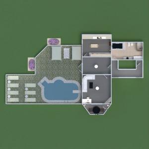floorplans appartement maison terrasse décoration salle de bains chambre à coucher salon garage cuisine chambre d'enfant bureau eclairage maison 3d