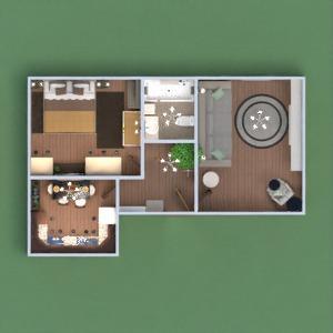 planos apartamento muebles 3d