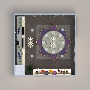 floorplans casa decoração cozinha iluminação sala de jantar 3d