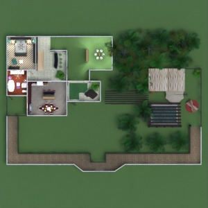 floorplans house furniture decor outdoor lighting landscape architecture 3d