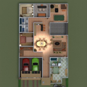 floorplans house furniture decor lighting architecture 3d