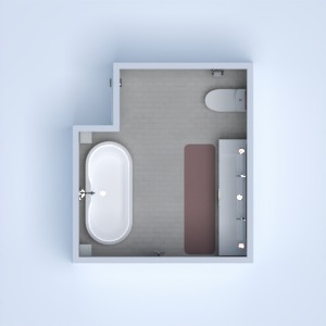 floorplans decor bathroom storage 3d