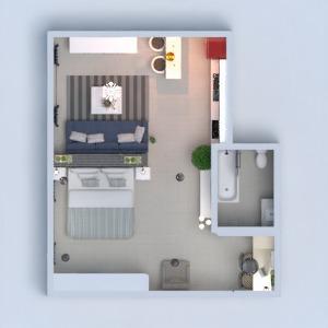 floorplans apartamento mobílias decoração quarto infantil escritório 3d