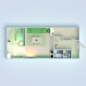 floorplans meble wystrój wnętrz sypialnia pokój dzienny biuro oświetlenie jadalnia 3d