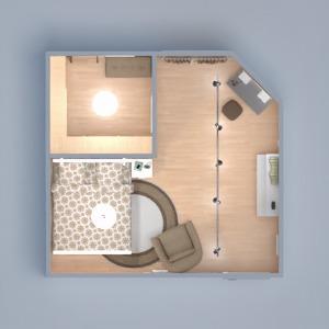 floorplans mobiliar dekor schlafzimmer 3d