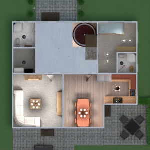 floorplans maison salon architecture 3d