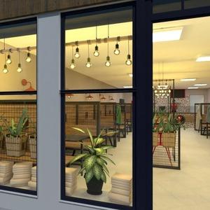 floorplans furniture lighting renovation cafe storage 3d