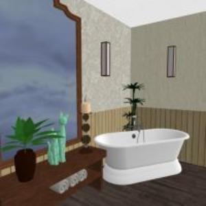 floorplans apartamento mobílias decoração estúdio 3d
