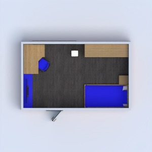 floorplans mobílias decoração quarto infantil 3d