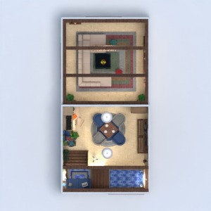 floorplans wohnung haus mobiliar dekor schlafzimmer wohnzimmer büro beleuchtung haushalt architektur lagerraum, abstellraum studio eingang 3d