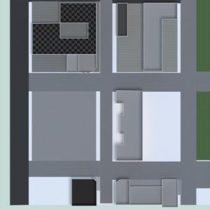 floorplans área externa iluminação reforma cafeterias arquitetura 3d