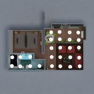 floorplans furniture decor living room kitchen architecture studio entryway 3d