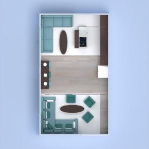 планировки квартира мебель декор гостиная 3d