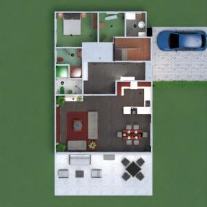 floorplans wohnung haus terrasse mobiliar dekor badezimmer schlafzimmer wohnzimmer küche outdoor kinderzimmer esszimmer architektur eingang 3d
