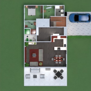floorplans apartamento casa terraza muebles decoración cuarto de baño dormitorio salón cocina exterior habitación infantil comedor arquitectura descansillo 3d