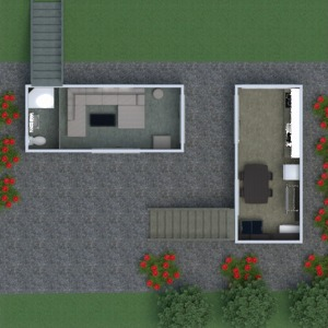 floorplans house outdoor landscape 3d