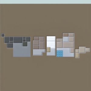 floorplans dom meble na zewnątrz architektura 3d
