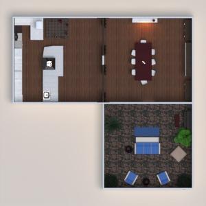 planos muebles decoración comedor 3d