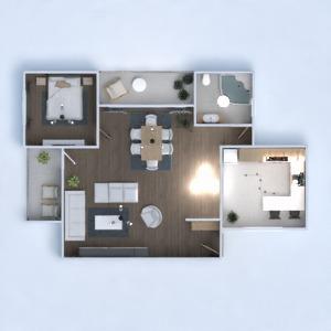 floorplans house furniture bathroom bedroom kitchen 3d
