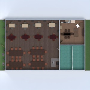 floorplans apartment terrace landscape household dining room architecture 3d