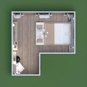 планировки мебель спальня освещение 3d
