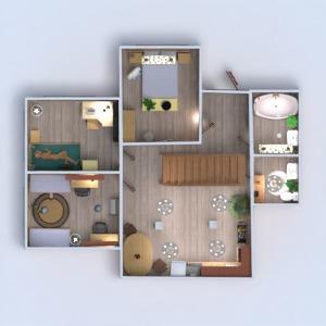planos casa muebles decoración bricolaje cuarto de baño 3d