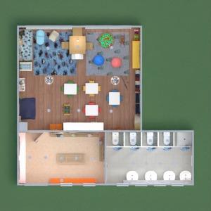 floorplans mobiliar badezimmer kinderzimmer 3d