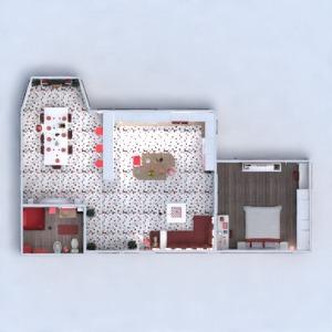 floorplans butas baldai dekoras vonia miegamasis svetainė virtuvė apšvietimas namų apyvoka valgomasis аrchitektūra sandėliukas 3d