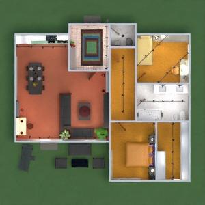 floorplans butas namas baldai vonia miegamasis svetainė virtuvė eksterjeras vaikų kambarys apšvietimas valgomasis аrchitektūra prieškambaris 3d