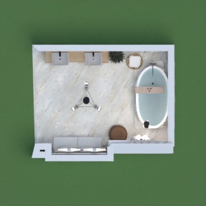 планировки дом декор ванная хранение 3d