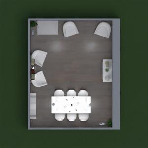 планировки гостиная столовая 3d