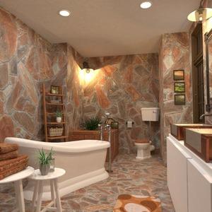 planos decoración cuarto de baño iluminación 3d