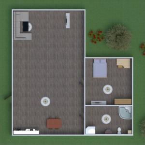 floorplans bathroom bedroom kitchen outdoor landscape 3d
