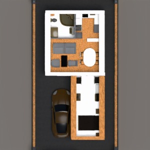 floorplans haus garage outdoor architektur 3d
