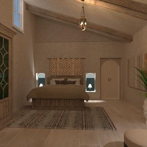 floorplans salle de bains chambre à coucher eclairage rénovation 3d