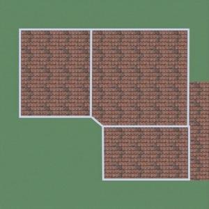 floorplans house garage kitchen lighting entryway 3d