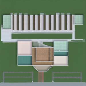 floorplans house terrace furniture landscape architecture 3d