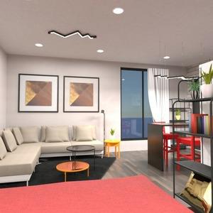 progetti decorazioni bagno saggiorno cucina monolocale 3d