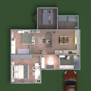 floorplans house kitchen outdoor kids room office 3d