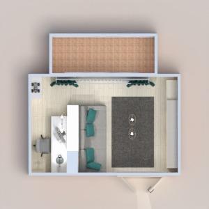 floorplans wohnung mobiliar dekor wohnzimmer 3d