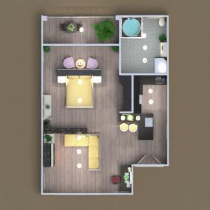 floorplans apartment furniture decor bathroom bedroom living room kitchen outdoor lighting landscape household architecture storage entryway 3d