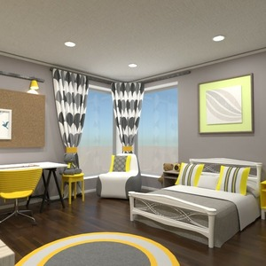 floorplans decor bedroom kids room lighting 3d