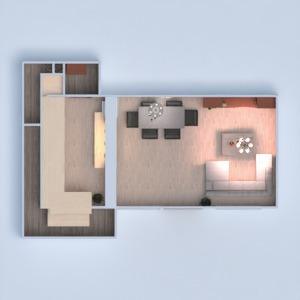 планировки дом сделай сам гостиная кухня столовая 3d