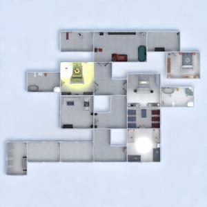 floorplans cuarto de baño dormitorio salón habitación infantil arquitectura 3d
