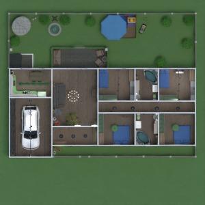 floorplans dom taras meble wystrój wnętrz łazienka sypialnia pokój dzienny garaż kuchnia na zewnątrz pokój diecięcy oświetlenie remont krajobraz przechowywanie wejście 3d