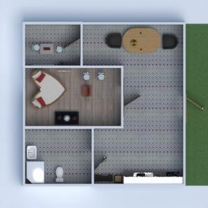 planos apartamento decoración 3d