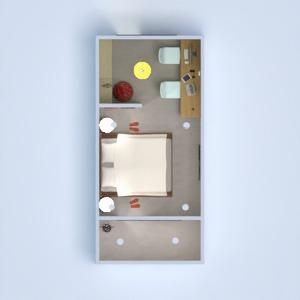 floorplans dormitório escritório iluminação 3d