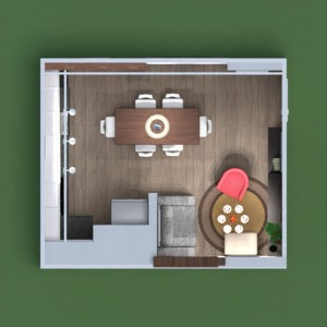 floorplans apartment living room kitchen 3d